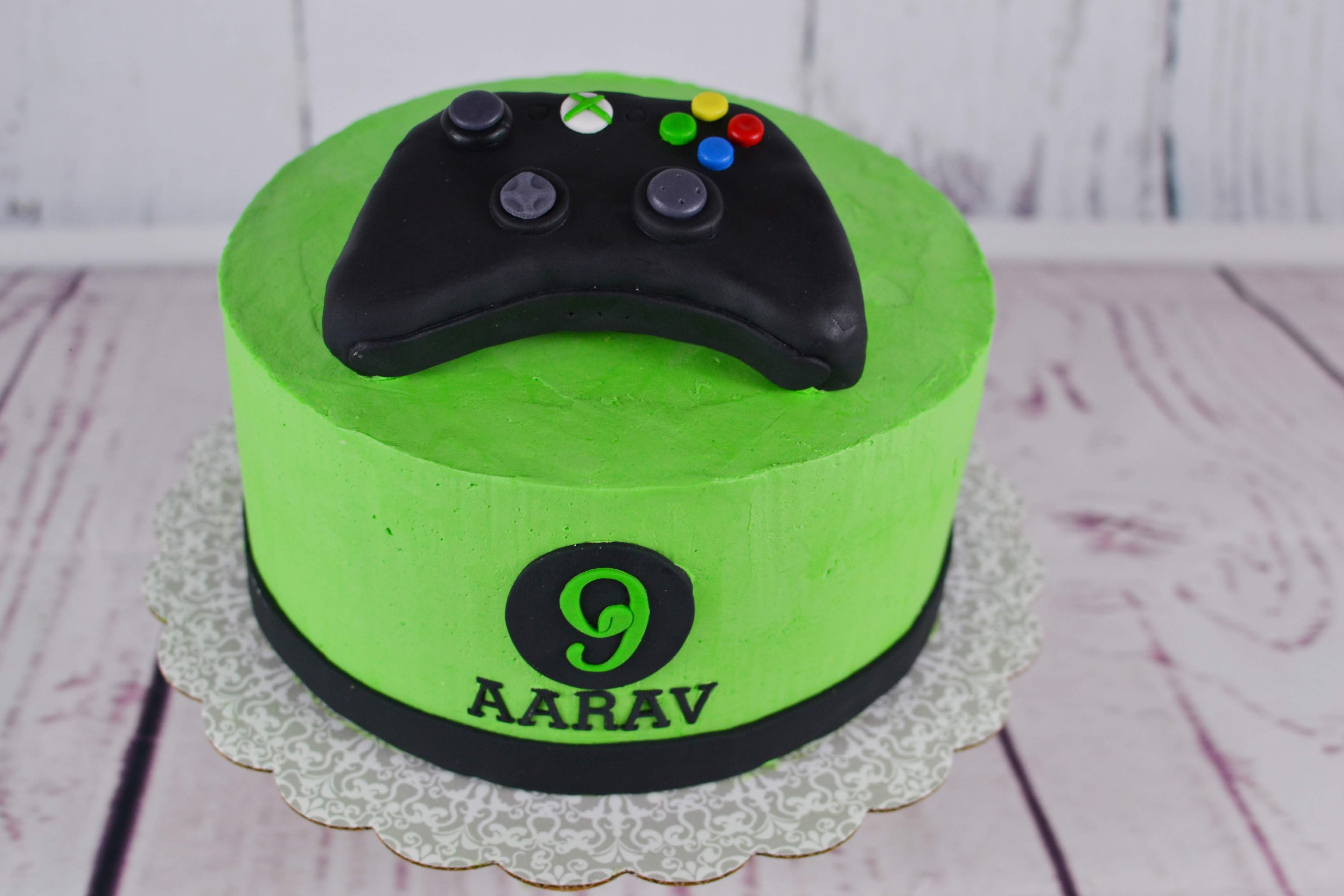 Outstanding Xbox Game Controller Cake Topper Edible Perfections Funny Birthday Cards Online Overcheapnameinfo